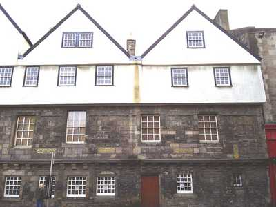 Huntley House, the Canongate, Edinburgh