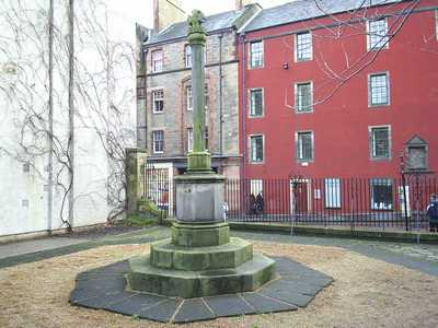 Original Cross of St John, Canongate Kirkyard, Edinburgh